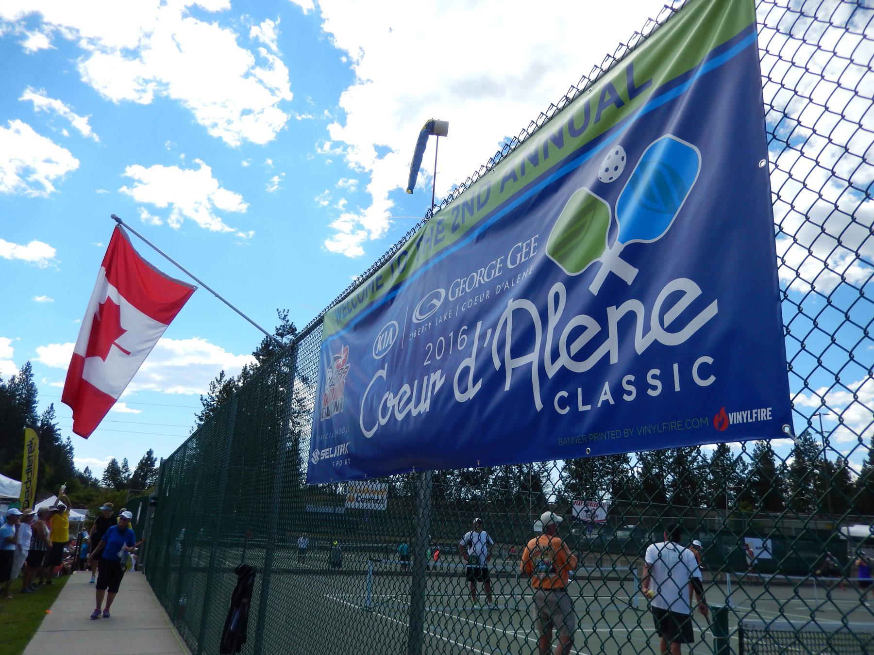 2016 Coeur d'Alene Classic Pickleball Tournament